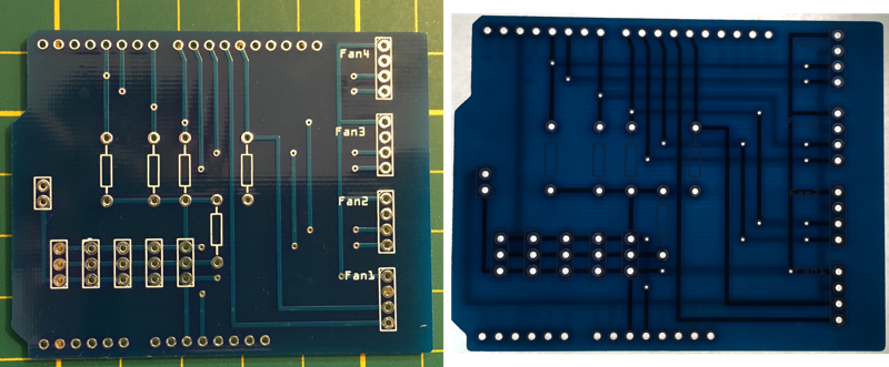fertiges PCB